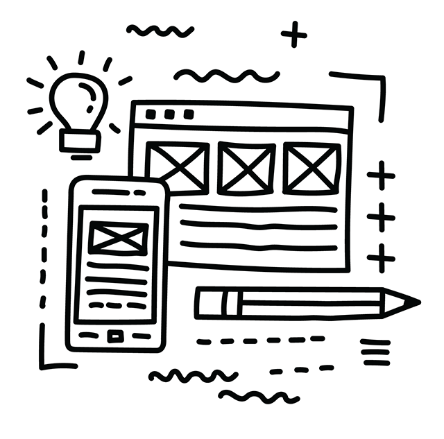 Website Development Sketch by PlayBig Design